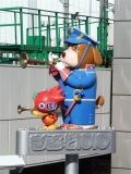 JR・東武・東京メトロ・TX北千住駅 わんさ君・JuJuちゃん像