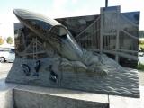 JR室蘭駅 クジラたちの祝福