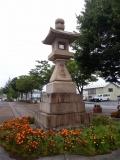 青い森鉄道・JR野辺地駅 常夜燈