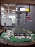 青い森鉄道・JR野辺地駅 常夜燈 駅中のおまけ