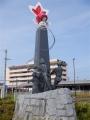 JR新発田駅 金魚台輪