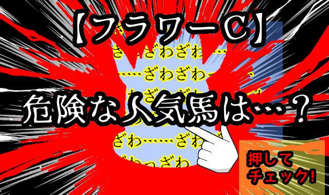【フラワーC】危険な人気馬
