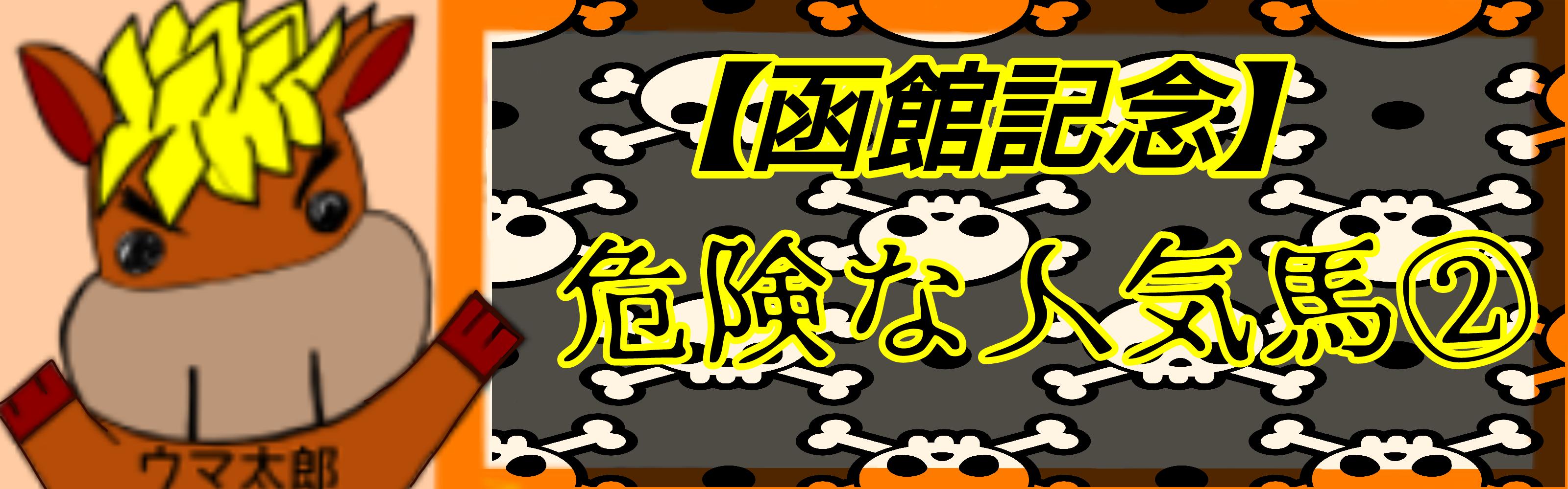 【函館記念】危険な人気馬②