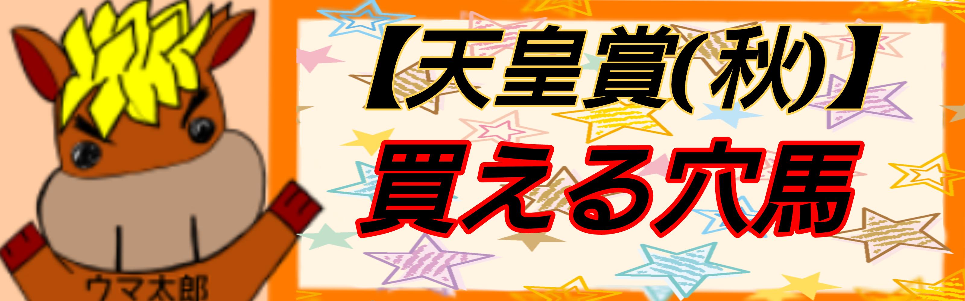 天皇賞(秋) 買える穴馬