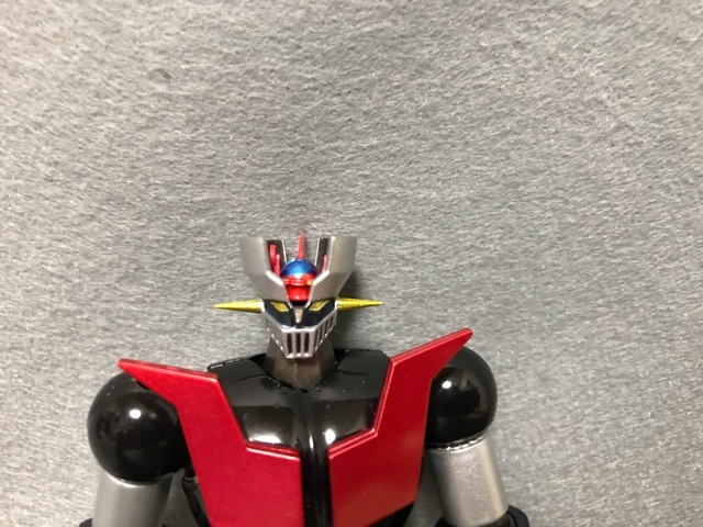 スーパーロボット超合金 マシンガーZ  顔