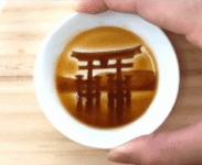 醤油を入れるとイラストが浮かび上がる醤油皿に感激する韓国人の反応「韓国ネット民」10年前ぐらいまでは、日本の人は創意工夫を凝らしてこういうものをいっぱい作っていましたね
