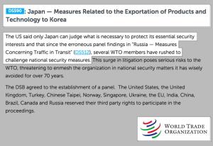米国「日本の韓国輸出規制は安保措置」…WTO審理対象でない?[韓国ネット民]中国に対抗して日米韓同盟を重視する米国の立場では、しきりにもめ事を起こす韓国は厄介者でしかないのだろう