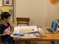 コロナ対策WEB授業 こども絵画造形教室キッズ・アトリエ 西東京市 武蔵野市