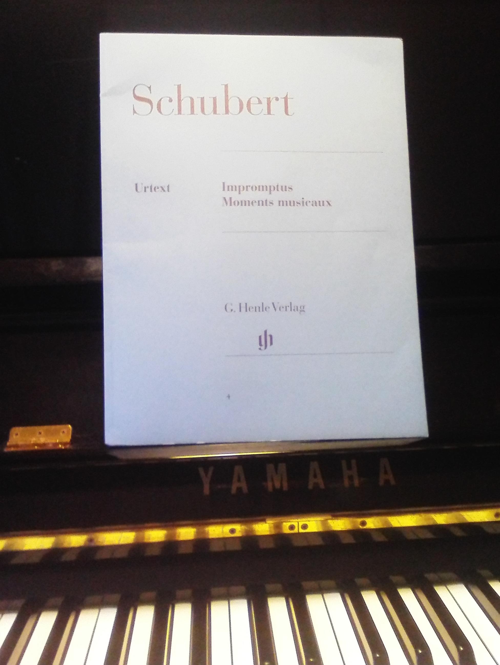 シューベルト/即興曲&楽興の時/楽譜ヘンレ版