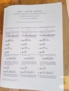 シューベルト即興曲ヘンレ版楽譜別冊