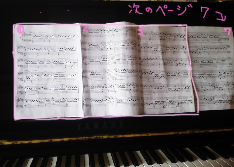 即興曲op90-3楽譜全体