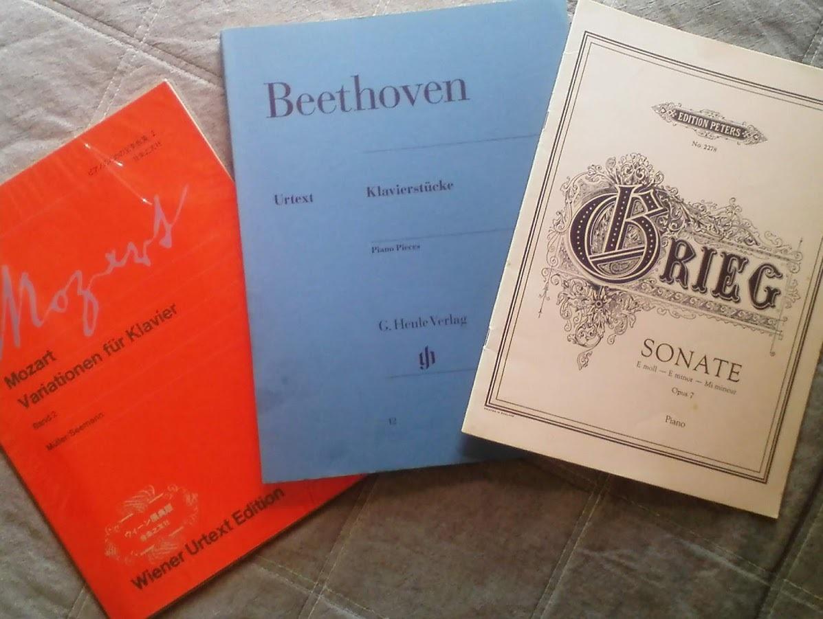 ヤフオクで入手した原典版楽譜シューベルト