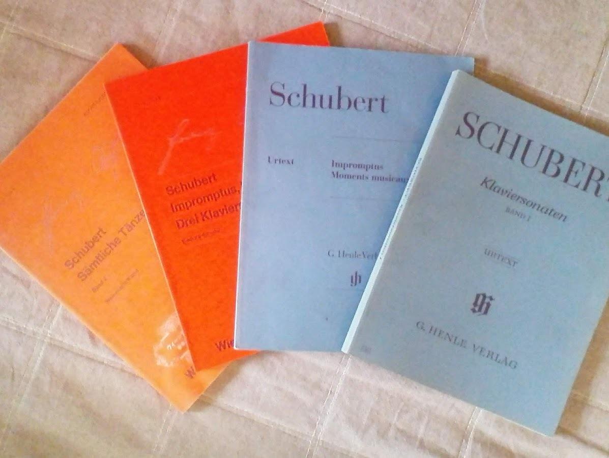 ヤフオクで入手した原典版グリーグモーツァルトベートベン楽譜