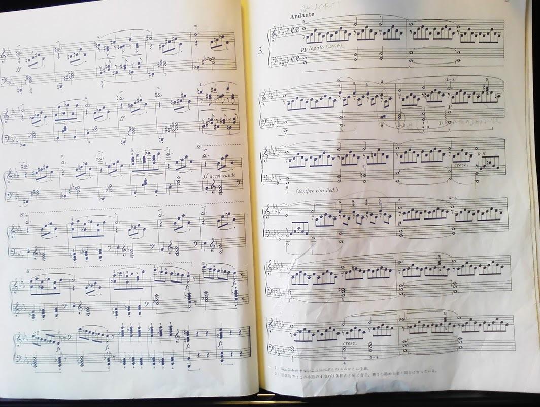即興曲op90No.2&3楽譜