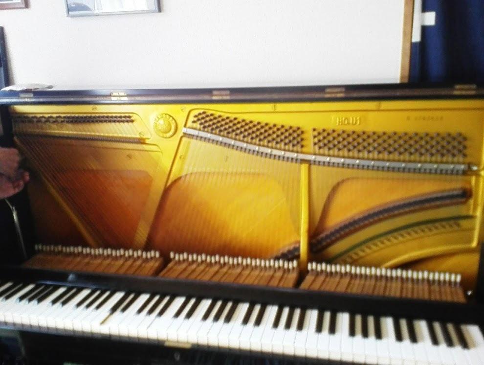 ピアノ1現在のピアノの姿/