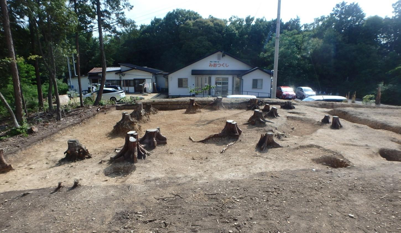 松ヶ洞⒚発掘後