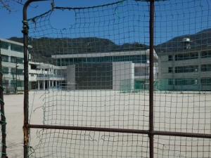 片山中の円形校舎跡