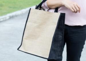 買い物バッグの消毒