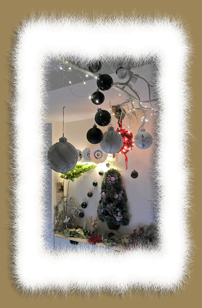 2020-Christmasクラヴィアハウスの玄関
