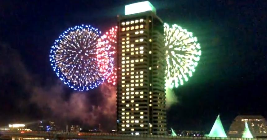 20200609みなと神戸海上花火大会
