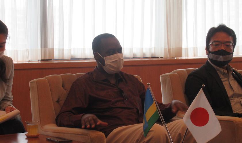 20200715ルワムキョ駐日ルワンダ大使