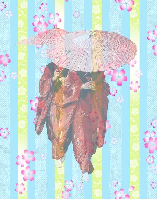 さくら花傘