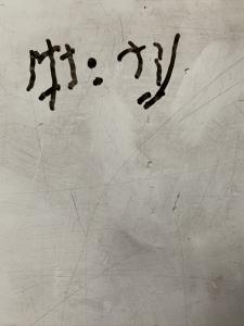 last handwriting