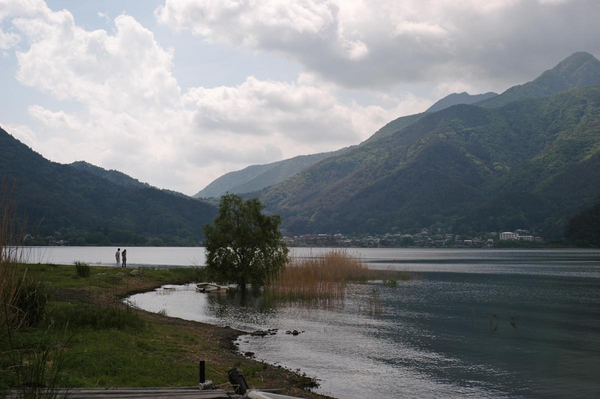 R-D1で撮った河口湖スナップ