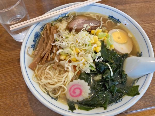 大井町滋味の味噌五目ラーメン