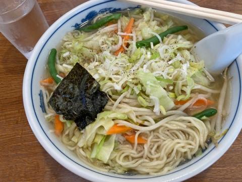 大井町滋味のタンメン