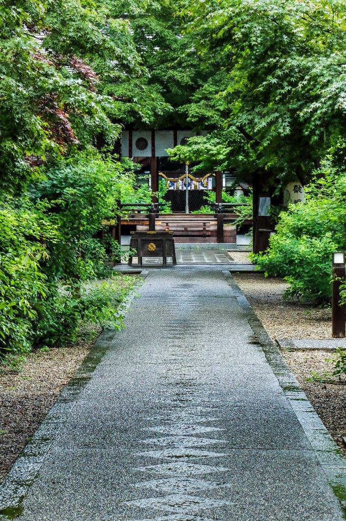200704 梨木神社 青紅葉_04