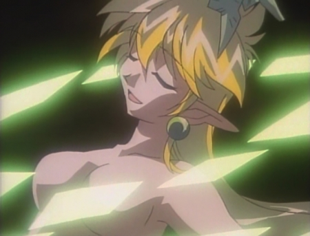 でたとこプリンセス ラピスの胸裸ヌード変身シーン46