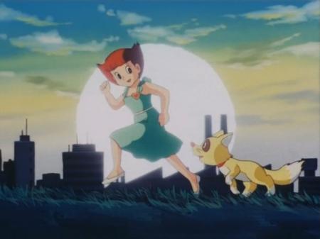 エスパー魔美パイロットフィルムの佐倉魔美とコンポコ33