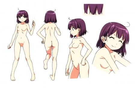 幸腹グラフィティ設定資料集プロダクションノート 森野きりんの全裸ヌード