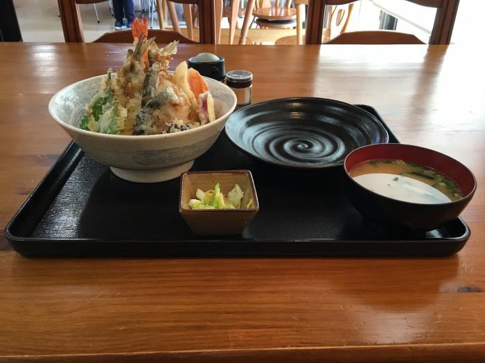限定天丼!五剣山(海鮮食堂じゃこや)3