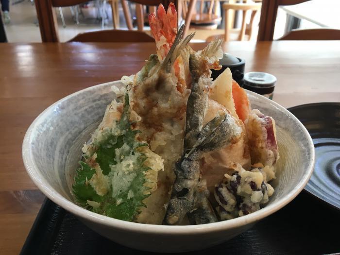 限定天丼!五剣山(海鮮食堂じゃこや)2
