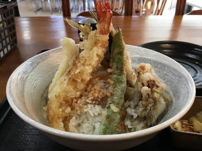 限定天丼!五剣山(海鮮食堂じゃこや)9