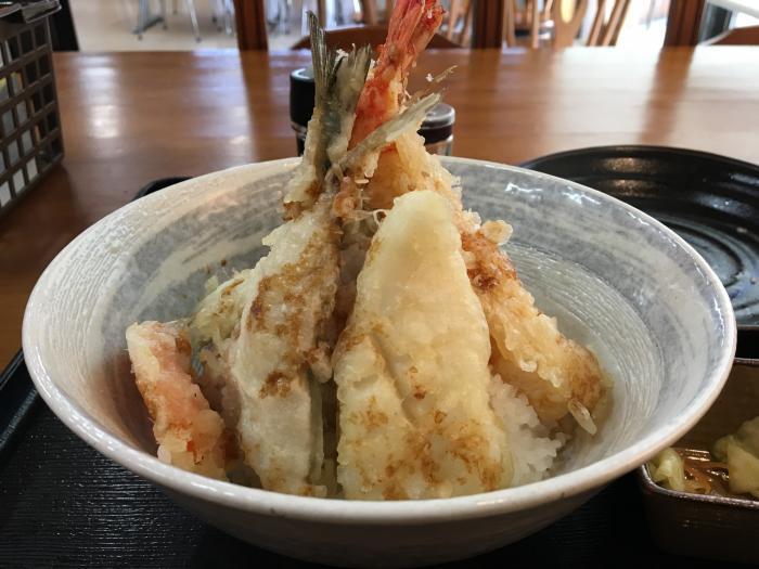 限定天丼!五剣山(海鮮食堂じゃこや)8