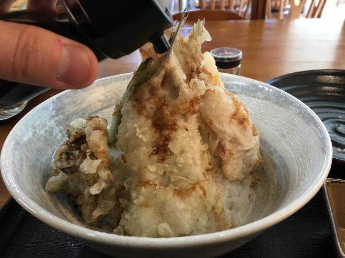 限定天丼!五剣山(海鮮食堂じゃこや)10