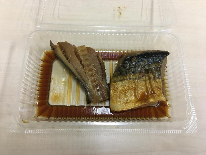 銀だら+さばの煮付け(埼玉県越谷市・株式会社フジシゲ)