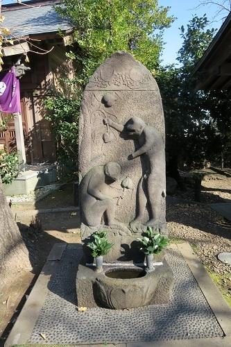 庚申塔 筑土八幡神社