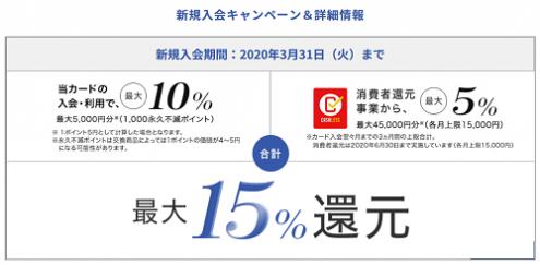 セゾンコバルトビジネスアメックスカード入会キャンペーン