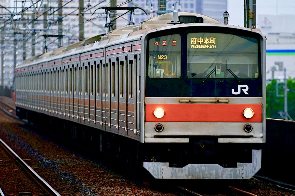 200716 JRE 205 musashino ichikawashiohama 1