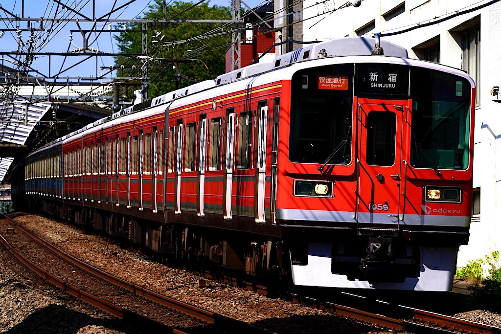 200829 odakyu 1000 red yurigaoka2