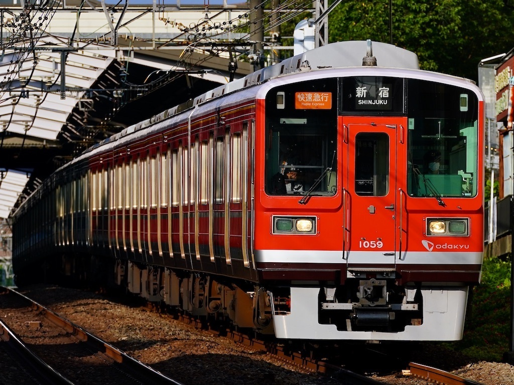 200829 Odakyu 1000 RED yurigaoka1