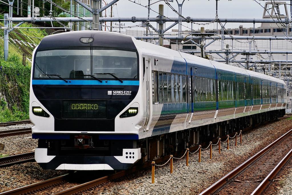 200920 JRE E257 Odoriko shinkoyasu1
