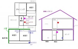 レイアウト図 RE505X
