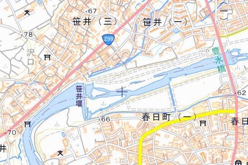 ☆豊水橋~笹井堰