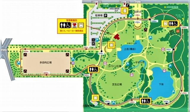 ☆彩の森公園 案内図