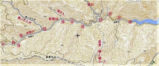 有間川 地図